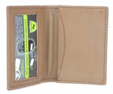 Men's RFID Security Leather Expandable Credit Card ID Business Holder Wallet