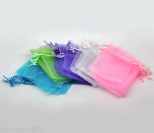 Wholesale Lots 7x9cm Mixed Organza Wedding Gift Bags&Pouches
