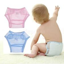 Newborn Lovely Baby Summer Washable Mesh Cloth Nappy Diaper Reusable Diaper Pant