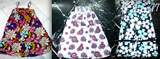OLD NAVY Floral LAYERED RUFFLED SMOCKED Spaghetti Straps CapSl Girls DRESS 3 4 T