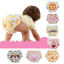 Baby Pee Potty Training Diaper Pants Cloth Nappy Infant Kid Underwear Boy Girl