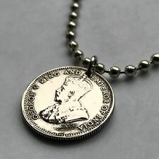 UK Hong Kong 10 cent coin pendant Hongkonger Chinese Pearl of the Orient n001816