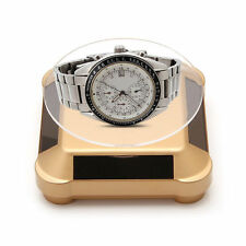360 Solar Power Rotating Display Stand Turn Table Plate For Jewelry Watch Phone