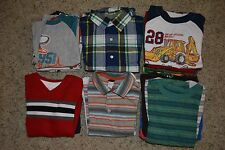 Lot of 23 Pieces of Boys Clothing (Shirts, T-shirts) - Size 4T/5T