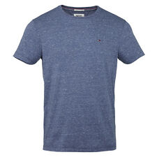 Tommy Hilfiger Denim Men's Shirt Original Basic Knit Crew Neck Tee Navy Blue
