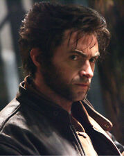 Poster or Photo Hugh Jackman Leather Jacket in Profile