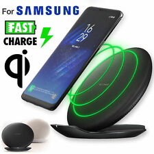 Fast Charger Qi Wireless Charging Dock Pad Stand for Samsung Galaxy S7 S8 S8+
