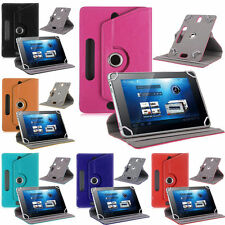 360° Rotating Folio Leather Case Cover Fr Universal Android Tablet PC 7 8 9 10.1