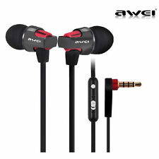 Metal Stereo 3.5mm Earphones IN Ear Noise Cancellation Earbuds HIFI Bass Headset