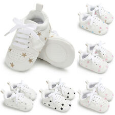 Kids Boys Sports Running Baby Casual Trainers Soft Shoes Fit 0-18Months 6Styles
