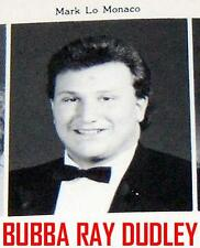 BUBBA RAY DUDLEY  HIGH SCHOOL YEARBOOK -WRESTLING WWF EXTREME ECW BOYZ DIX HILLS