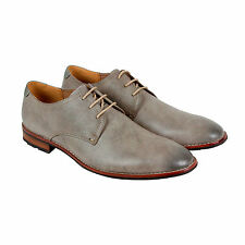 Steve Madden Ertle Mens Tan Leather Casual Dress Lace Up Oxfords Shoes