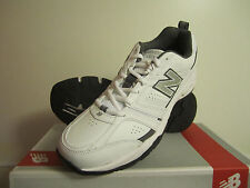 New! Mens New Balance 409 Trainer Sneakers Shoes White - Medium D