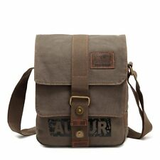 New Vintage Cancas Travel Satchel Backpack Rucksack Shoulder Bookbag Hiking Bag