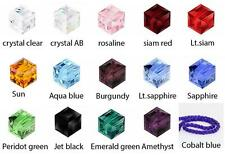 U Pick Top Quality Czech 6mm Cube Crystal Beads #5601 (~95-100pcs) or Swarovski