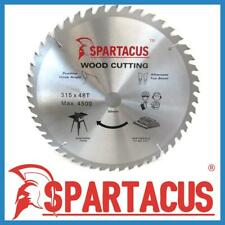 Spartacus Wood Cutting Saw Blade 315 mm x 48 Teeth x 30mm Fits Various Models