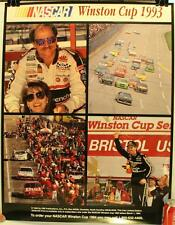 """1993 Nascar Winston Cup 17 x 22"""" Poster Dale Earnhardt Rusty Wallace"""