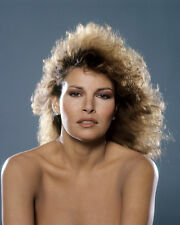 Raquel Welch Beautiful Bare Shouldered Exotic Studio Glamour Portrait Poster