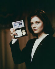 The Silence of the Lambs Jodie Foster Holding Up Her Fbi Badge Poster or Photo