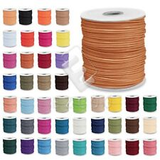 1Roll 170/80/40M Korea Polyester Waxed Cord Thread Jewelry Beading 1/1.5/2/3mm