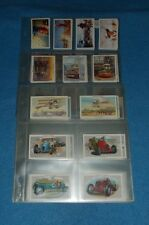 CASTELLA & OTHERS  (WILLS) CIGARETTE CARD COMPLETE FULL SETS IN PLASTIC SLEEVES