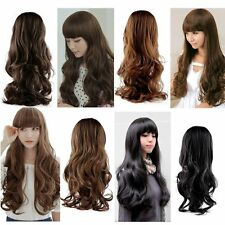 Fashion Lovely Women Girl Wig Long Natural Wavy Curly Hair Cosplay Party Wigs GH