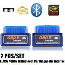 Bluetooth ELM327 OBD2 II Car Diagnostic Code Scan Tool For iPhone Android New HG