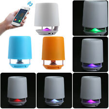 LED Color Breathing Light Bluetooth Speaker Pen Container 3D Stereo MP3MP4 PSP
