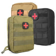 Nylon Tactical Military Molle Bag Medical First Aid Utility EMT Pouch Waterproof