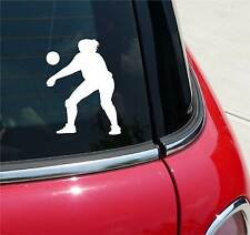 VOLLEYBALL #4 BEACH VOLLEY BALL FOREARM PASS GRAPHIC DECAL STICKER ART CAR WALL