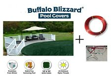 Above Ground 15 YEAR Supreme Plus Round Swimming Pool Winter Cover-(Choose Size)