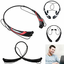 Wireless Stereo Bluetooth headset HandFree Music Earpiece for Samsung LG Nokia
