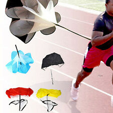 "56"" Speed Resistance Training Parachute Running Chute Football Exercise Tool"
