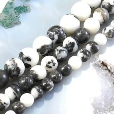 Wholesale Smooth natural Zebra Jasper Round Beads Spacer 4mm 6mm 8mm 10mm 12mm