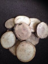 Lot Of  Log Slices-rings-disks Ideal For Craft Project Or Home Decoration