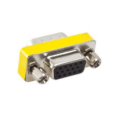 new 15-Pin VGA Changer Adapter Male to Male/Female Cable Extender Connector