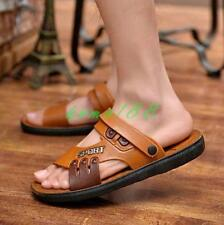 Mens fisherman Shoes Sandals Slip On Summer Beach Casual shoes slipper
