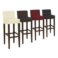 Brooklyn Contemporary Wood/ Faux Leather Barstool