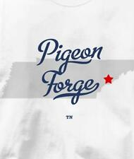 Pigeon Forge, Tennessee TN MAP Souvenir T Shirt All Sizes & Colors