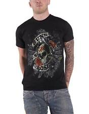 Guns N Roses T Shirt Firepower Distressed Band Logo Official Mens New Black