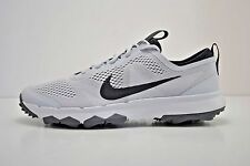Mens Nike FI Bermuda Golf Shoes Size 9 - 12 White Anthracite Grey 776121 003