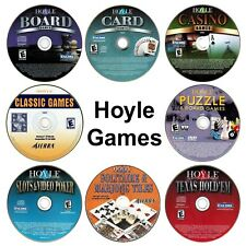Hoyle Software Game Selections PC Windows XP Vista 7 8 10 New CD-ROMs