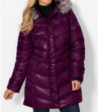 Women's Outerwear winter Down fur hooded parka down coat jacket plus XL1X 2X 3X