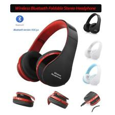 Foldable Wireless Bluetooth Stereo Headset Hands-free Headphone For Phone/PC/HTC