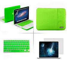 """Rubberized Case Keyboard Cover Sleeve bag for Macbook Pro 13/15"""" Air 11/13""""inch"""
