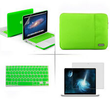 "Rubberized Case Keyboard Cover Sleeve bag for Macbook Pro 13/15"" Air 11/13""inch"