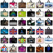 "Many Designs Sleeve Bag Case Cover+Handle For 10.1"" Dell Latitude 10/HP X2 210"