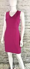 Banana Republic Womens Sheath Dress NEW Pink Stretch Back Zip Close-NWT-MSRP-$89