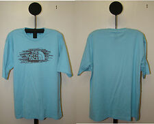 North Face Blue Orange or Green Crew Neck Short Sleeve T Shirt - Size S M or L