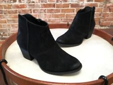Marc Fisher Black Suede Stefani Ankle Boots Bootie NEW